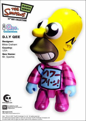 Homer - Mr Sparkle QEE simpson