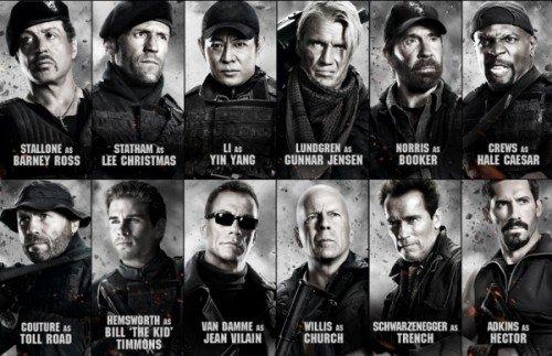 The expendables 2 : unité spéciale