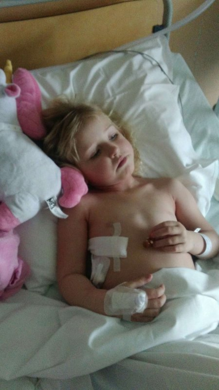 OPERATION REUSSIE  POUR CAMILLE