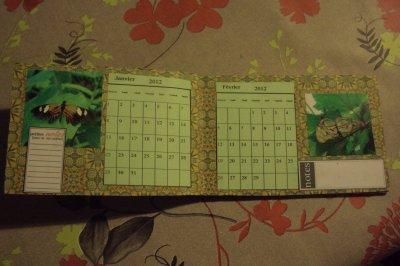calendrier pour noel   pour  marie agnes