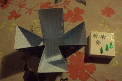 boite pour noel  et enveloppes