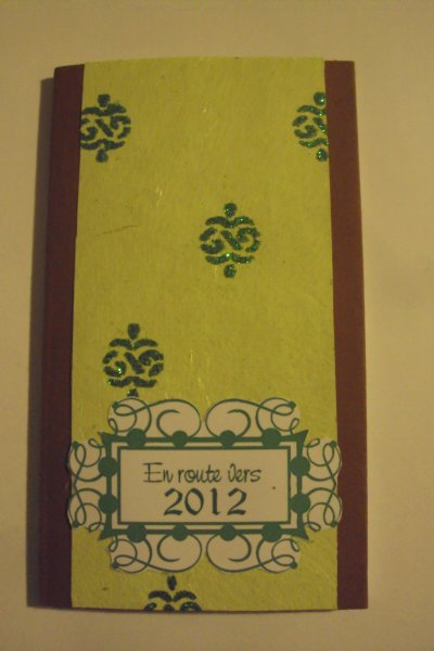 modele agenda 2012