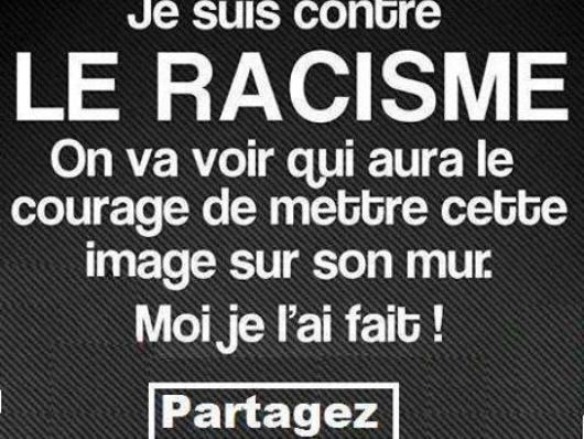 plus de racisme