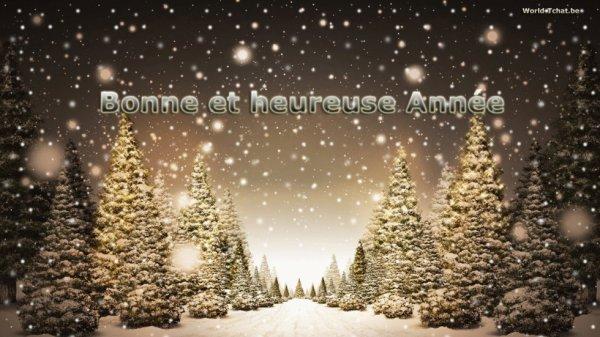 mes amies je vous souhaite de bonne fête de fin d'année