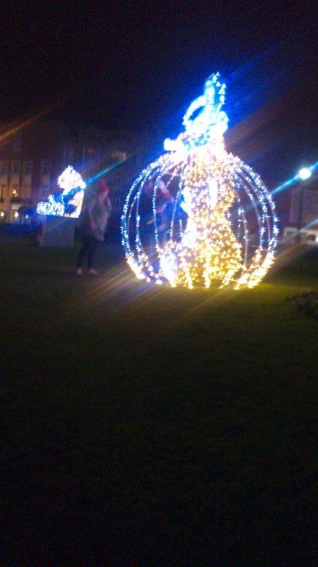 Calais illumination de noël