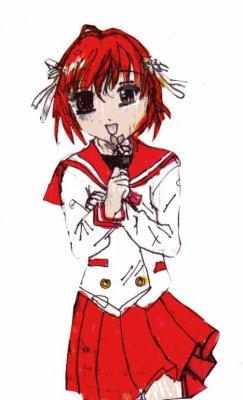 Jeune Fille Manga Mes Dessin Mangas