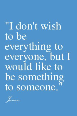 being something...