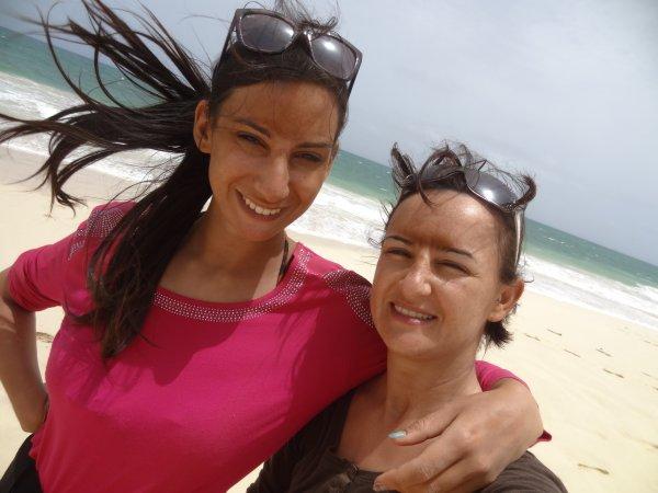 selfie plage santa monica Boa Vista