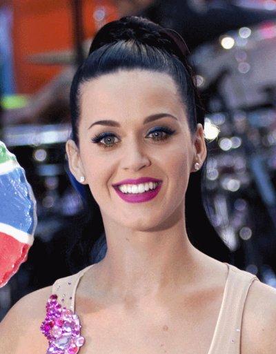 """27/08/10 - Katy au """"Today show""""."""