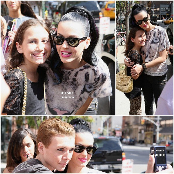 28/08/10 - Katy quitte son hotel New Yorkais.