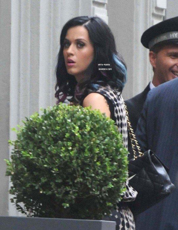 07/09/10 - Katy arrive à son hotel à Milan.