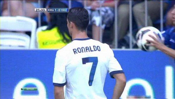 Cristiano Ronaldo Vs Valencia Home.