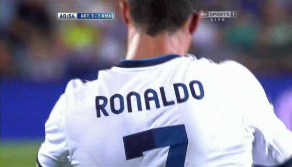 Cristiano Ronaldo Vs Getafe Away.