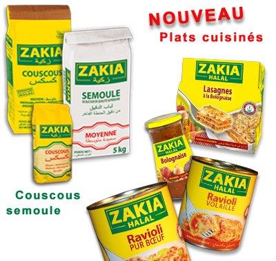 Des plats cuisinés Halal