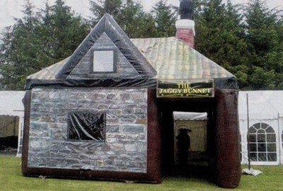Le pub gonflable
