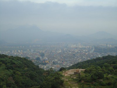 Shangen, une ville Chinoise