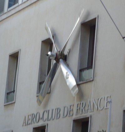 L'aéro-club de France