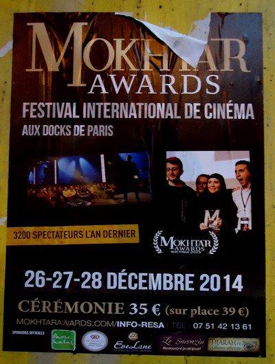 Les aventures du Mokhtar awards