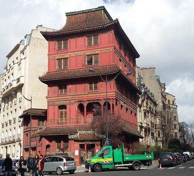 La pagode de M. Loo
