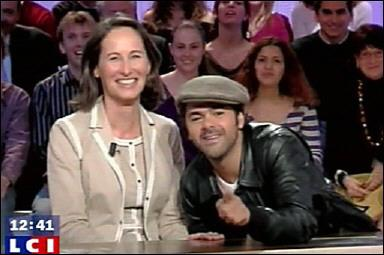 """Segolene Royal dans """"Le grand journal"""" de Canal+ : 100% com' 0% politique"""