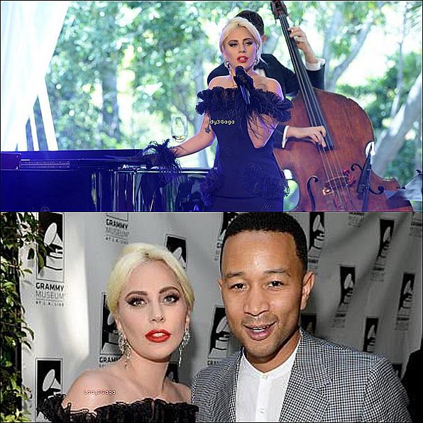""""""" ● ● Lady Gaga honorée  par le Grammy  Museum (photos).  ( et vidéos)"""