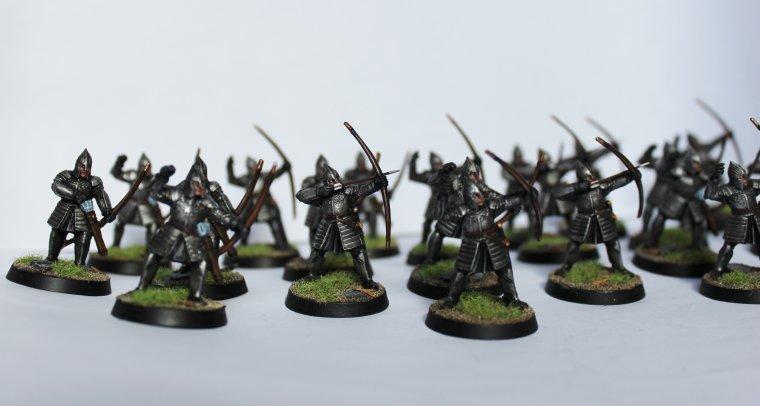 Les archers de Minas Tirith