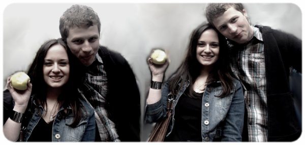 Une pomme pour sa pomme
