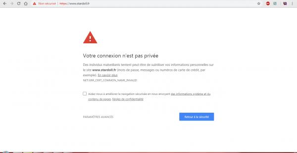 Stardoll n'est pas un site sûr !