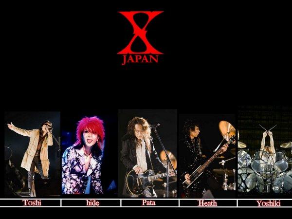 le prochain groupe sera X japan un des plus groupe japonais