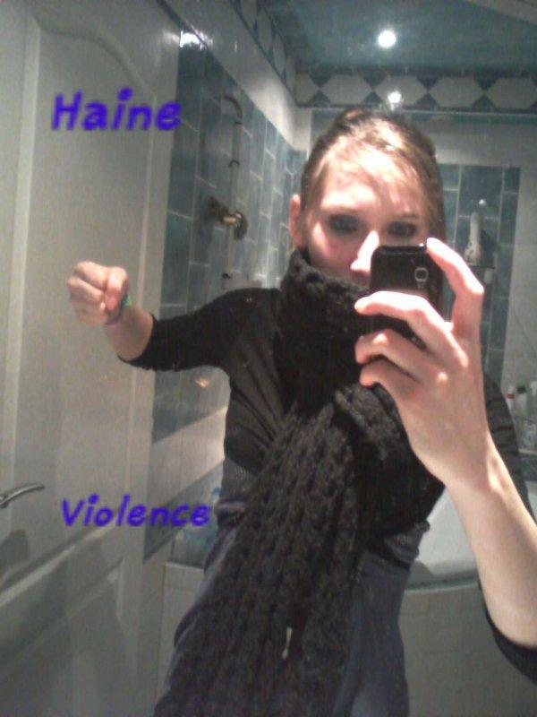 haine violence