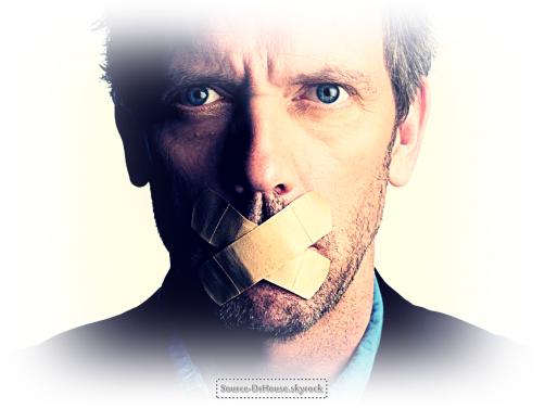 # - Lui c'est Hugh Laurie ♥