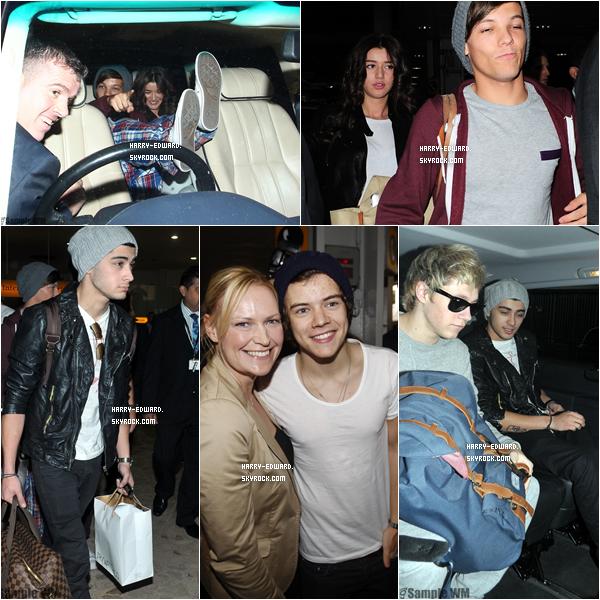 .24/04/12 : Les garçons sont enfin revenus à Londres !.