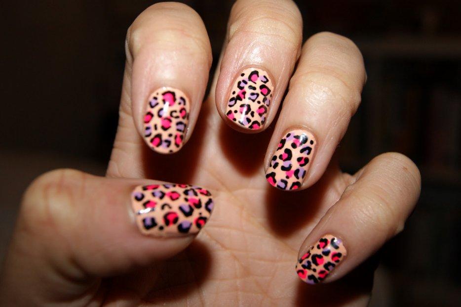 Léopard Nails