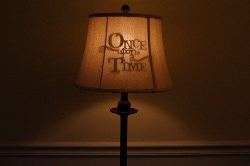 Une lampe de contes de fées