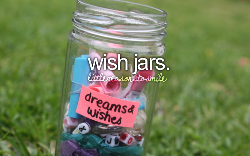 Wishes & dreams jars