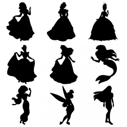 Des cadres silhouettes