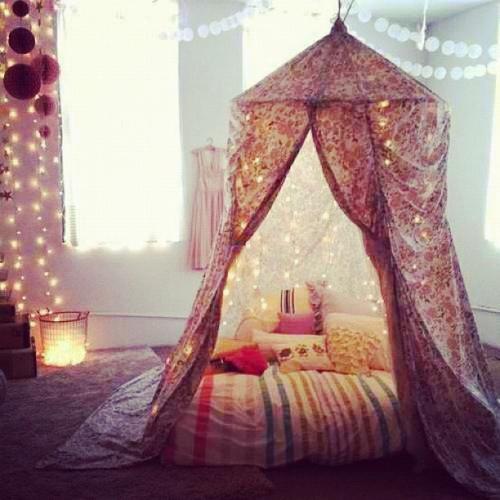 Une tente de repos