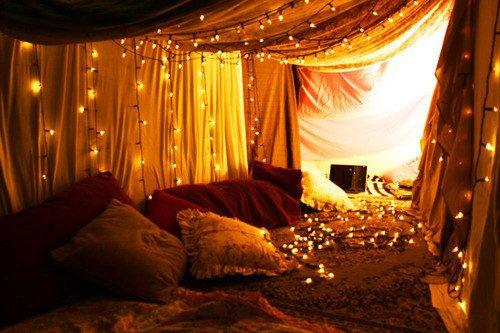 une tente de repos - do it yourself