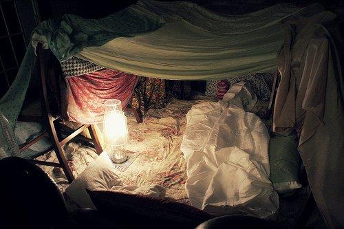 Une tente de repos do it yourself - Comment faire une cabane dans sa chambre ...