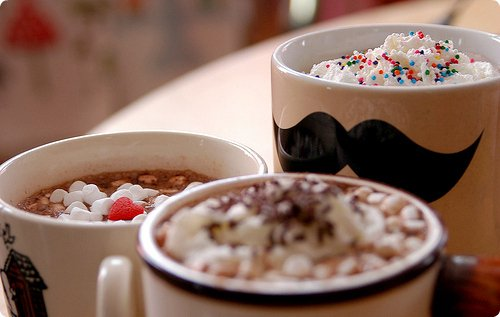 Des recettes de chocolat chaud