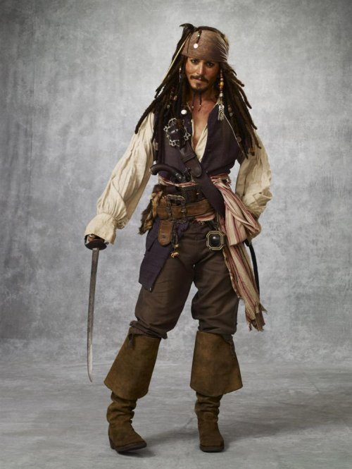 Pirate (inspiré par Captain Jack Sparrow)
