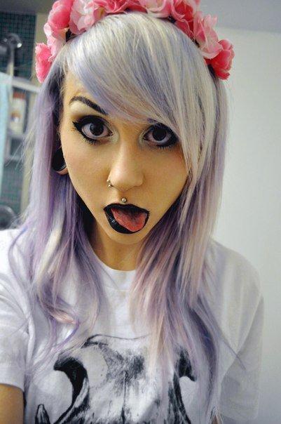 Pastel Goth/Hipster Goth