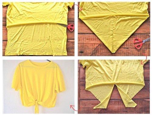 Un T-shirt Crop