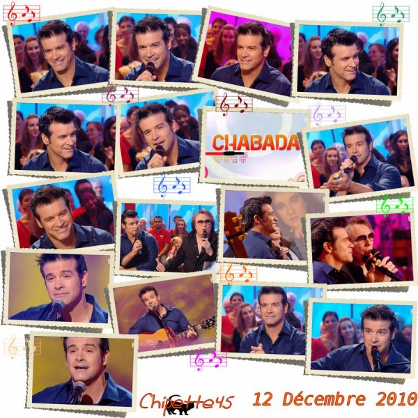 ♥ ♦ ♣ ♠ 12 décembre 2010 - Chabada - FR3 ♥ ♦ ♣ ♠