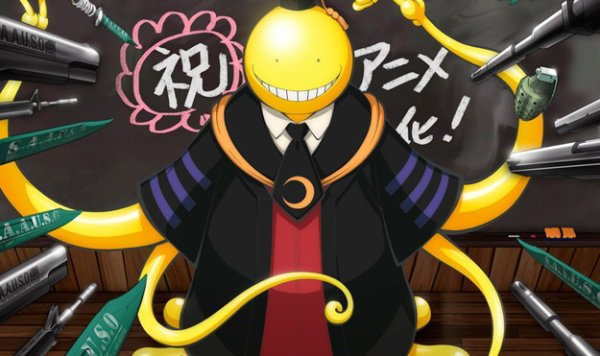 Assassination Classroom ( il garde toujours le smile  :)
