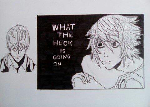 Dessin Death Note ❤