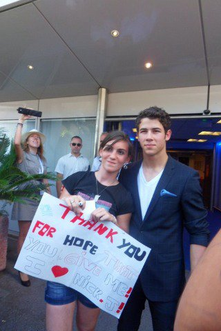 Nick Jonas a Cannes