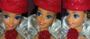 Barbie Spectacular Fashions Red Sizzle #7217 de 1983...