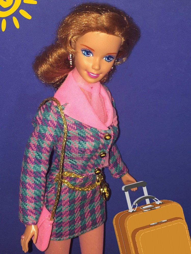 "FASHION AVENUE INTERNATIONAL ""FRANCE"" Mattel #18108 de 1997"