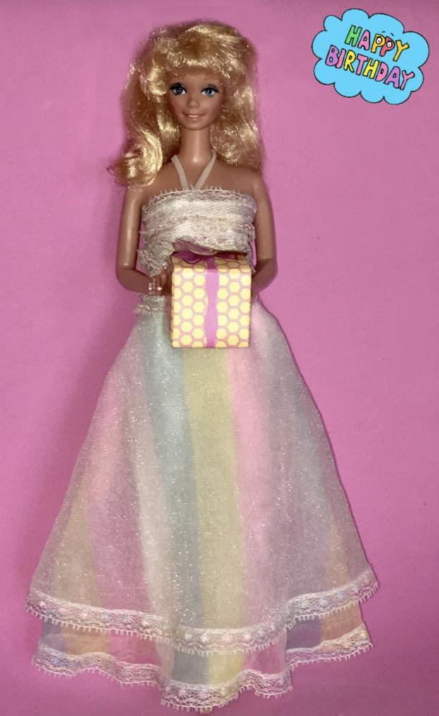 BARBIE HAPPY BIRTHDAY 1980...
